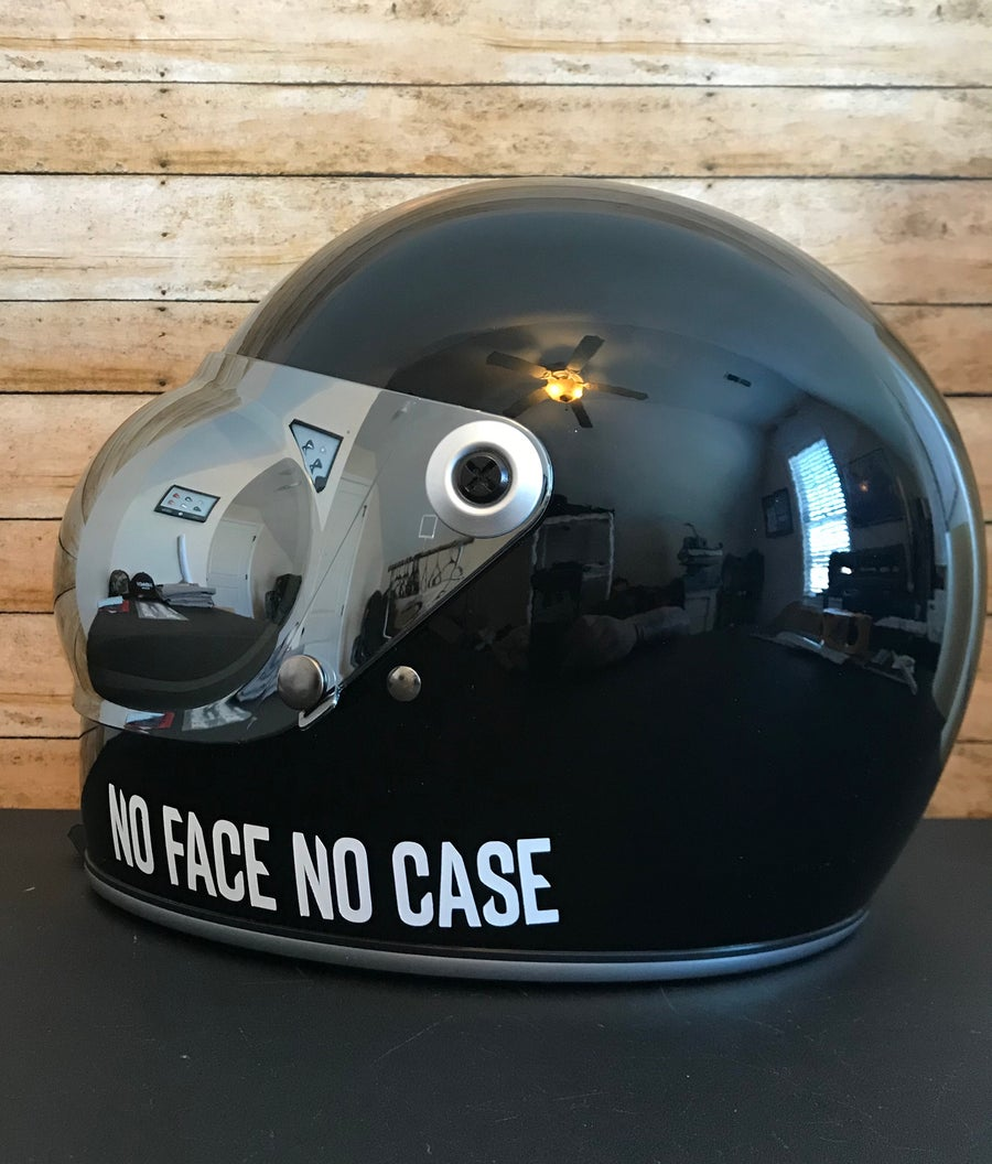 Image of NFNC Helmet sticker