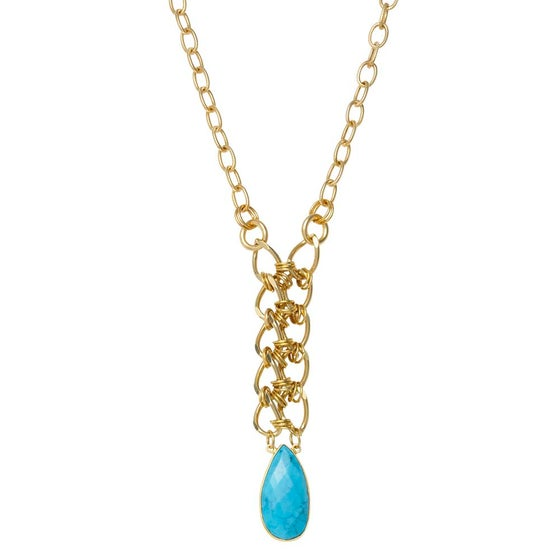 Image of TIMELESS TURQUOISE NECKLACE