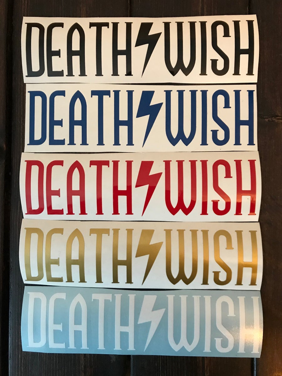 Image of Deathwish Swingarm Decal