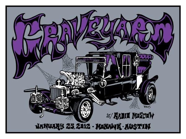 Image of Graveyard - Austin 2014
