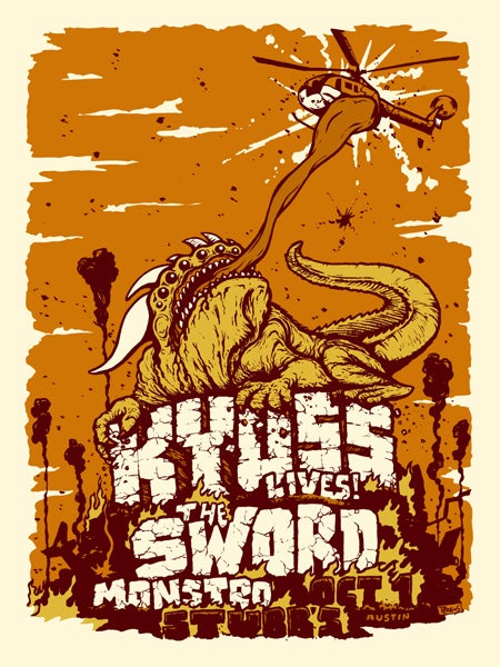 Image of Kyuss, The Sword - Austin