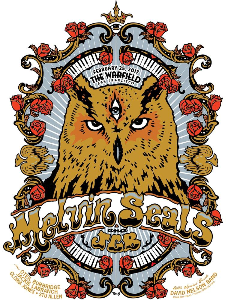 Image of Melvin Seals and Jerry Garcia Band - San Francisco 2017