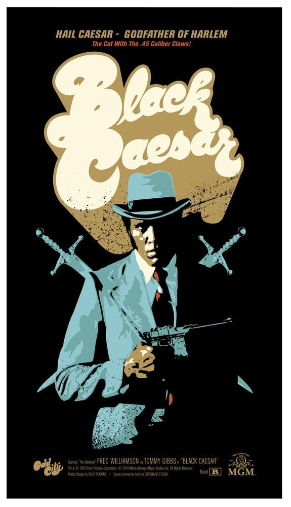 Image of Black Caesar movie print