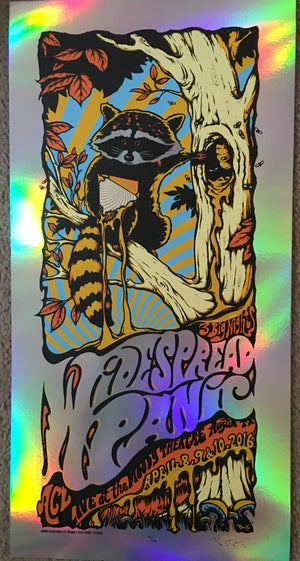 Image of Widespread Panic - Austin 2016, 3 nights poster