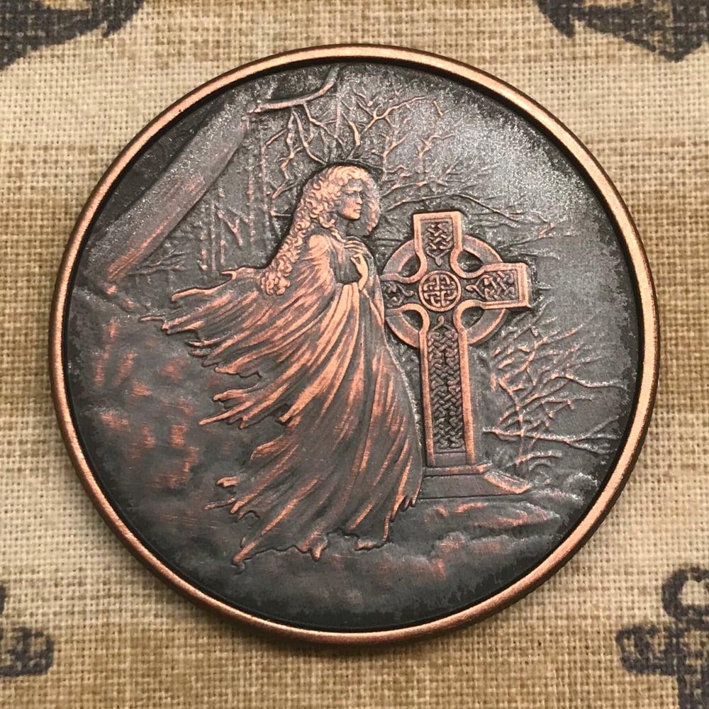 Image of Banshee 1oz Copper Challenge Coin