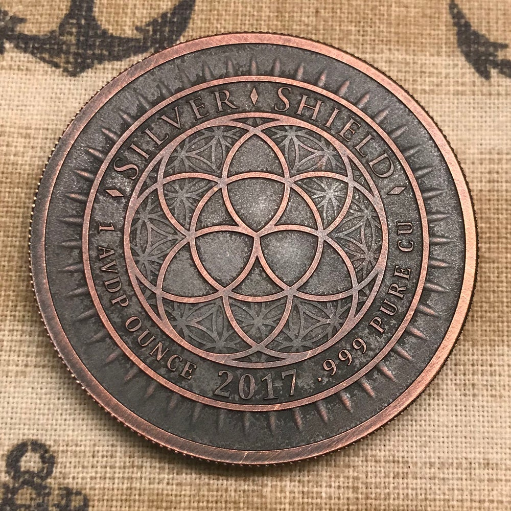 Image of Death Dollar 1oz Copper Challenge Coin