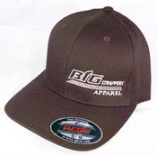 Image of Brown and Cream FlexFit Hat