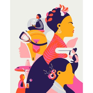 Image of Art Print – Phenomenal Women