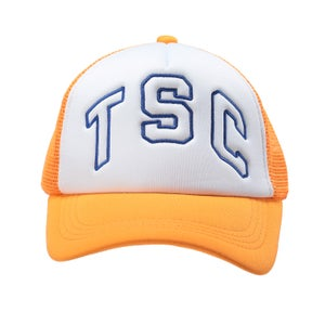 Image of TSC Trucker Cap (Orange/ Blue)