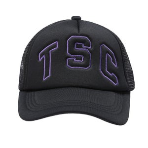 Image of TSC Trucker Cap (Black/ Purple)
