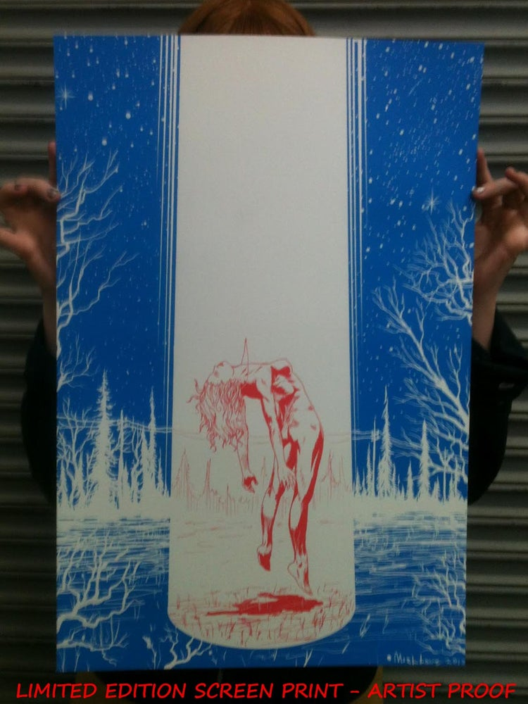 Image of Lightbeam Artist Proof Screenprint Edition