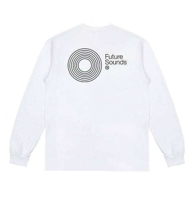 Image of Future Sounds L/S T-shirt (White)