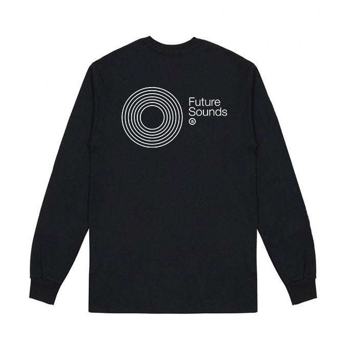 Image of Future Sounds L/S T-shirt (Black)