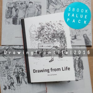 Image of 3 Book Value Pack - Drawing from Life books