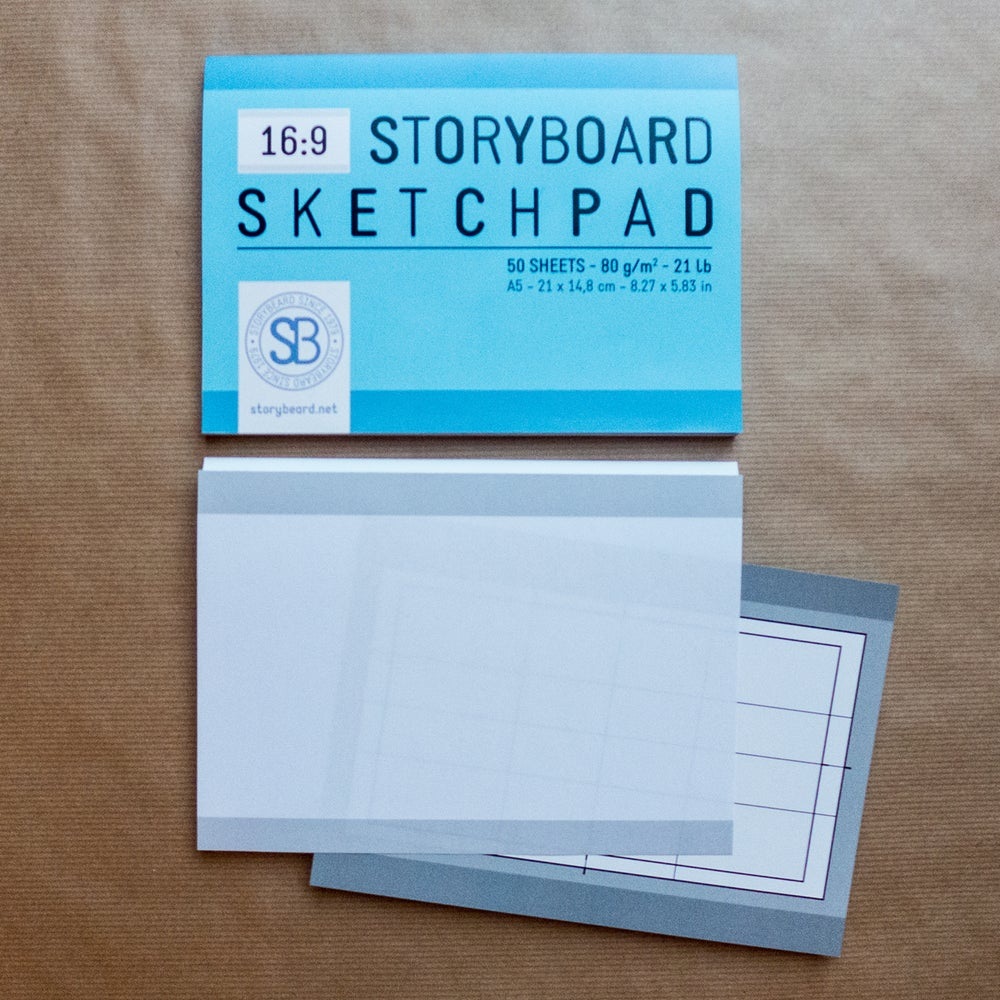 Image of 16:9 | Storyboard Sketchpad