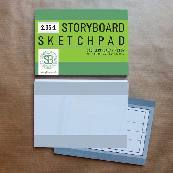 Image of 2.35:1 | Storyboard Sketchpad