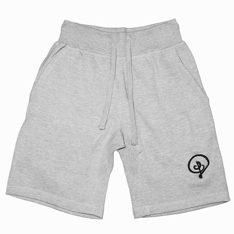 Image of D Logo Sweat Shorts (Grey)