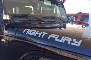 Image of Jeep Hood Decals (Set-left & right)