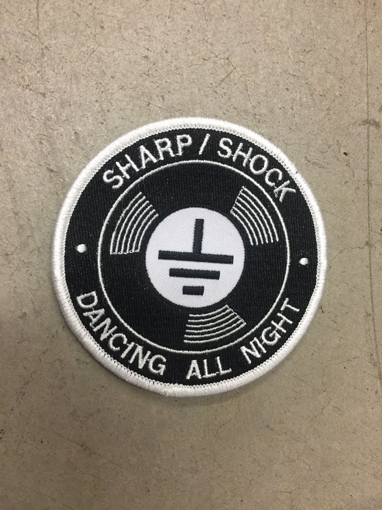 Image of Dancing All Night Embroidered Patch