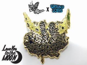 Vomitart - Love You to the Moon 3D Pin (LE 25)
