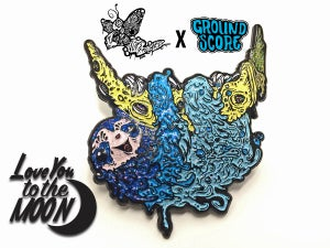 Vomitart - Love You to the Moon 3D Pin (LE 50)
