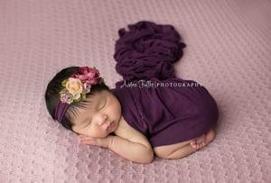 Image of Yara LAVENDER knit beanbag backdrop