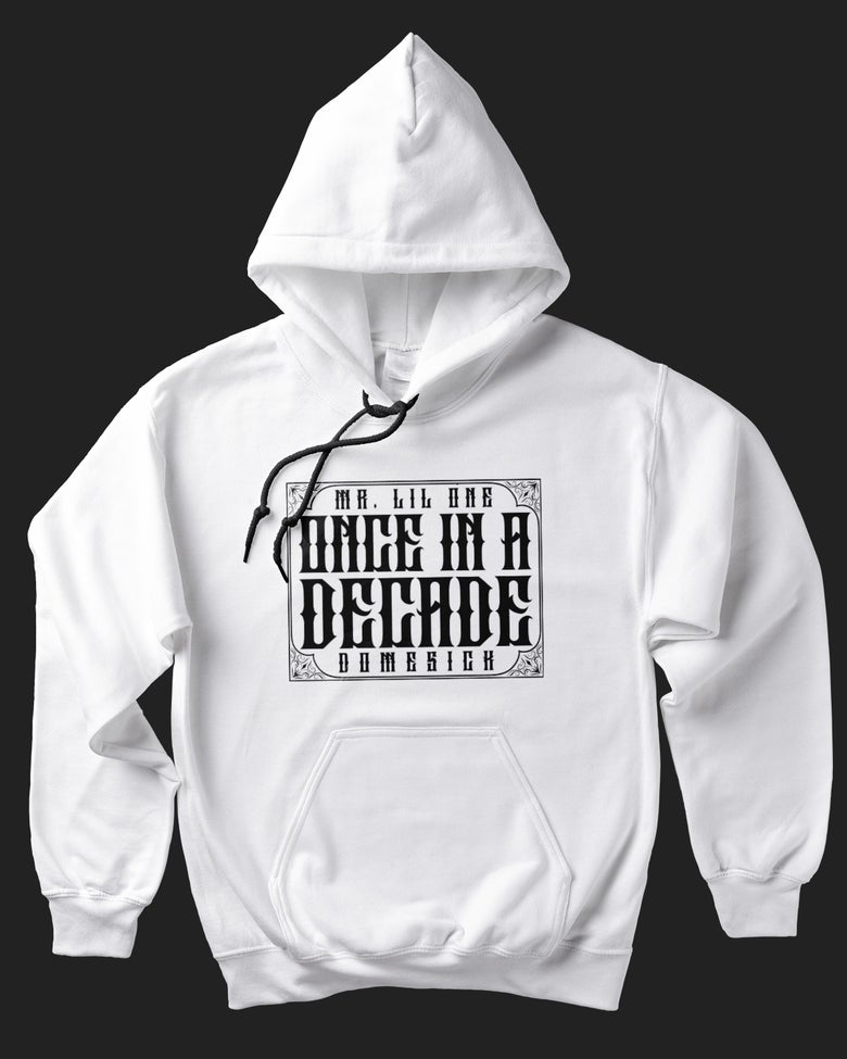 Image of Once In A Decade Hoody - White