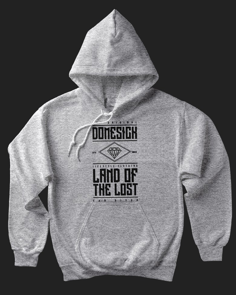 Image of Land Of The Lost Hoody - Grey