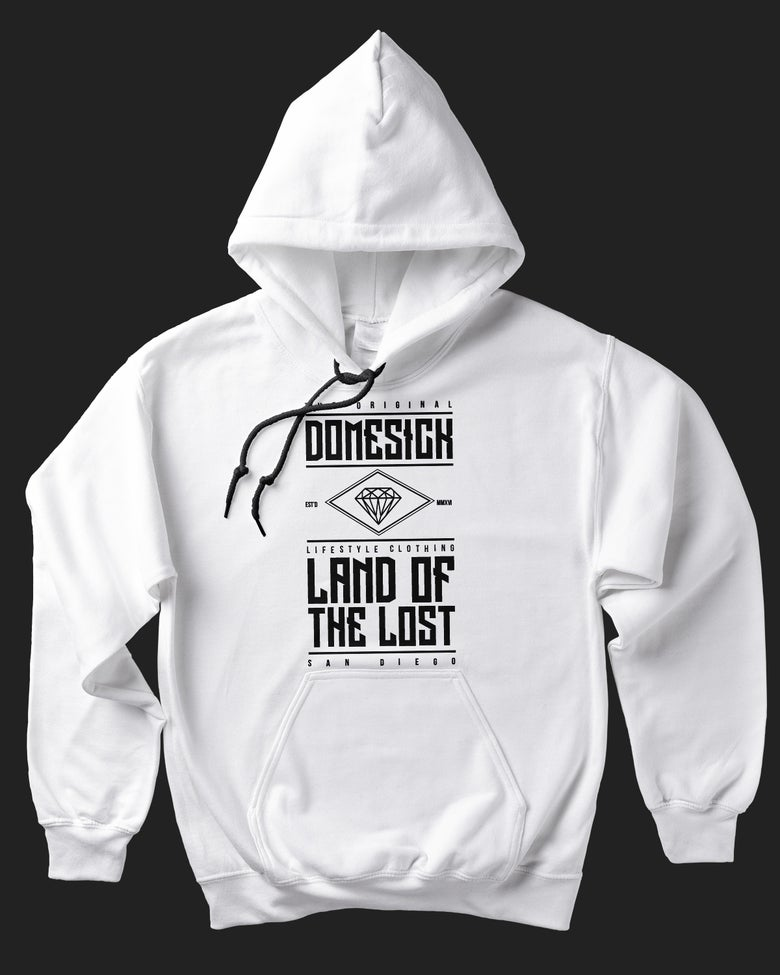 Image of Land Of The Lost Hoody - White
