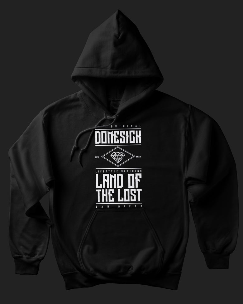 Image of Land Of The Lost Hoody - Black