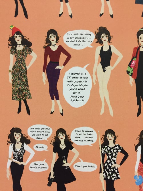Image of Daphne Moon Flash Sheet, Season 1