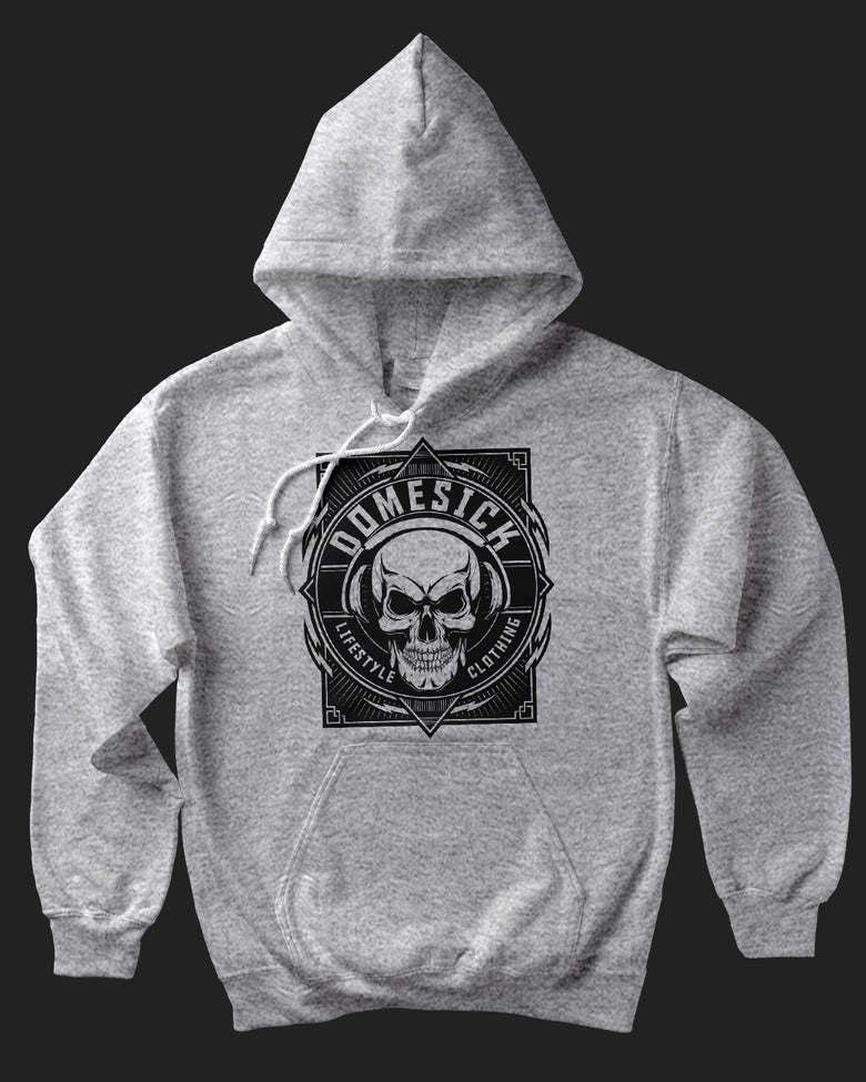 Image of Domesick Logo Hoody - Grey