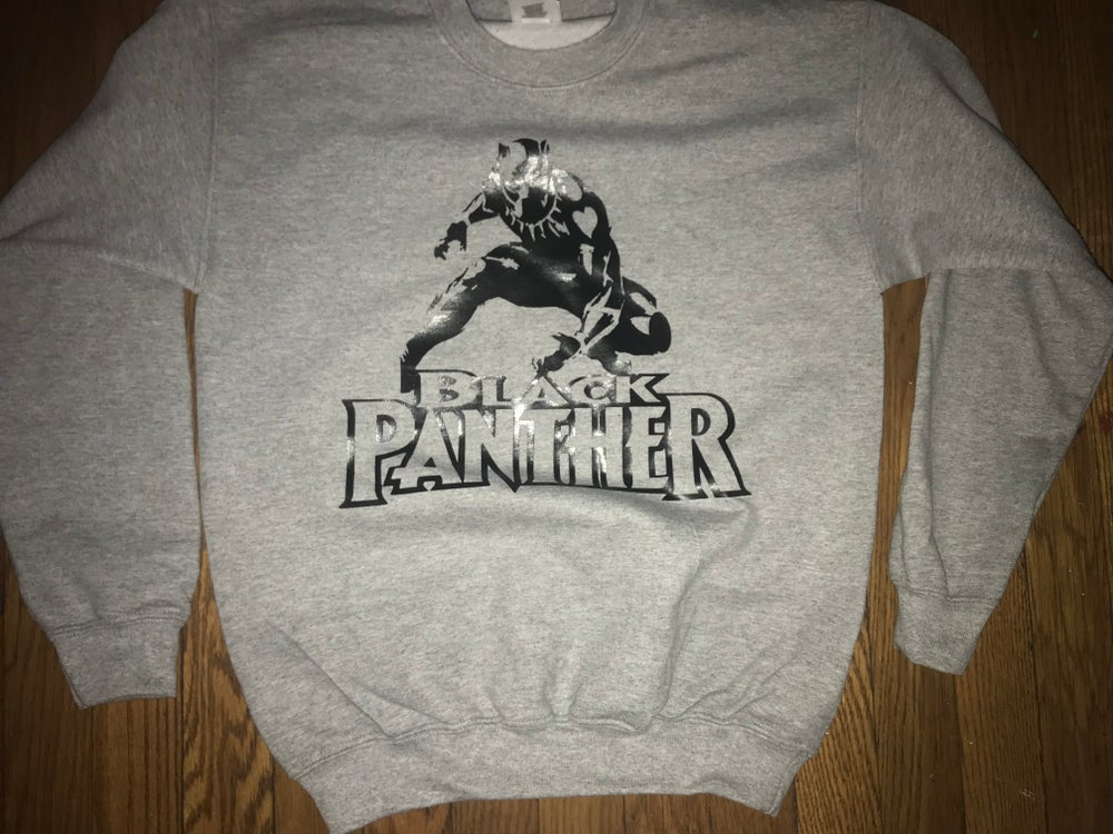 size 40 c3290 c7e55 Black Panther Sweatshirt -(Youth)