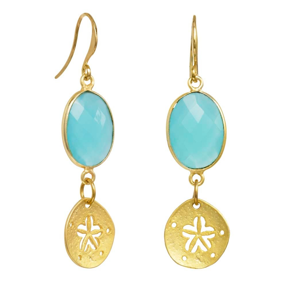 Image of SEA AND SKY EARRINGS