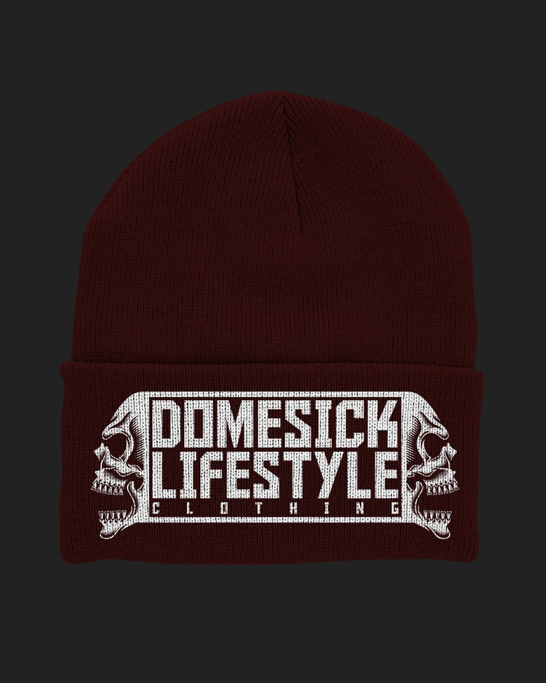 Image of Lifestyle Beanie - Burgundy