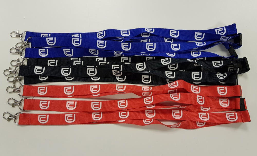 Image of Ultimate Dubs (Logo) - Lanyard (Various Colours)