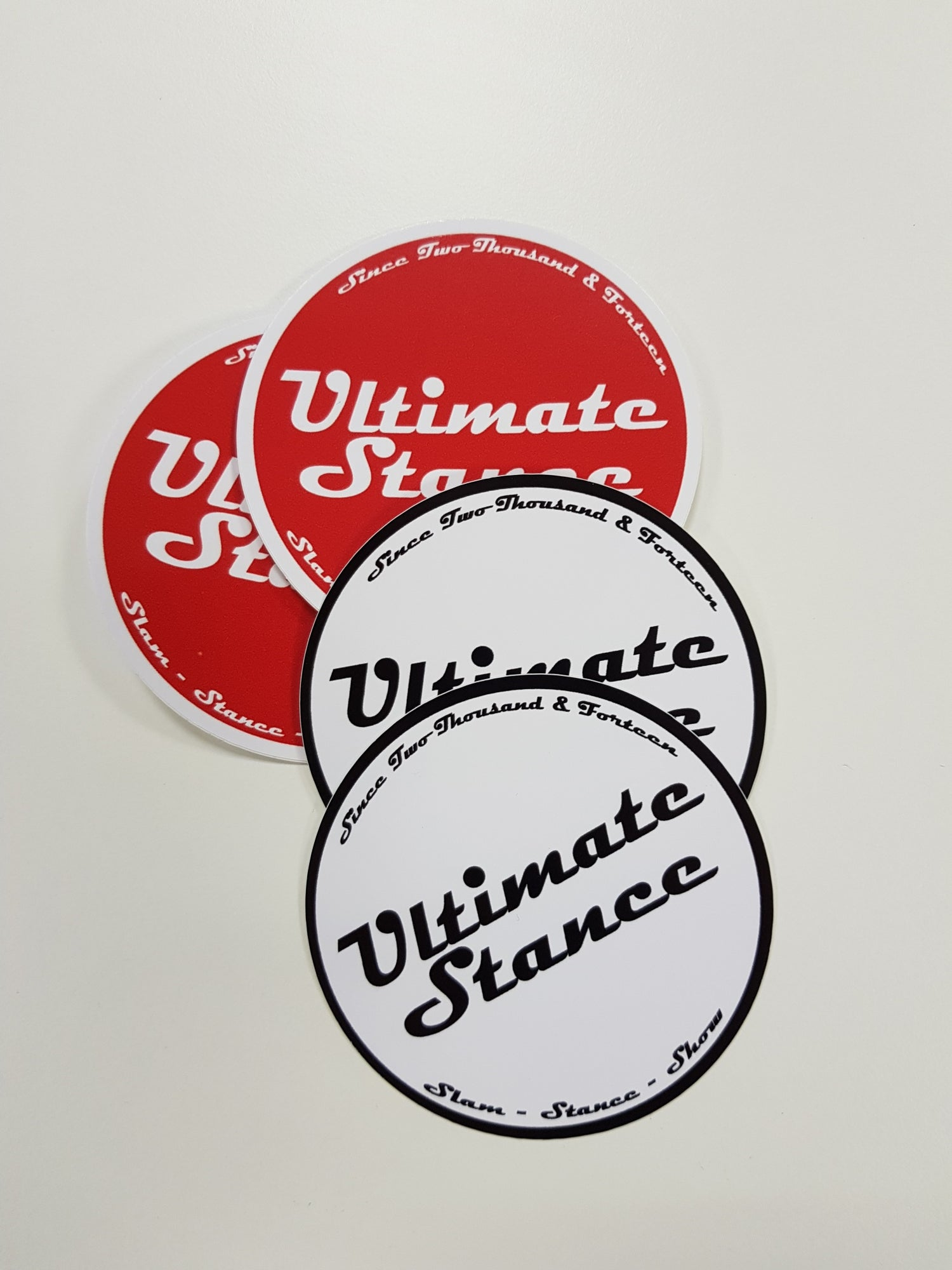 Image of Ultimate Stance Round Sticker