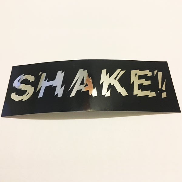 Image of Shake Chrome Sticker
