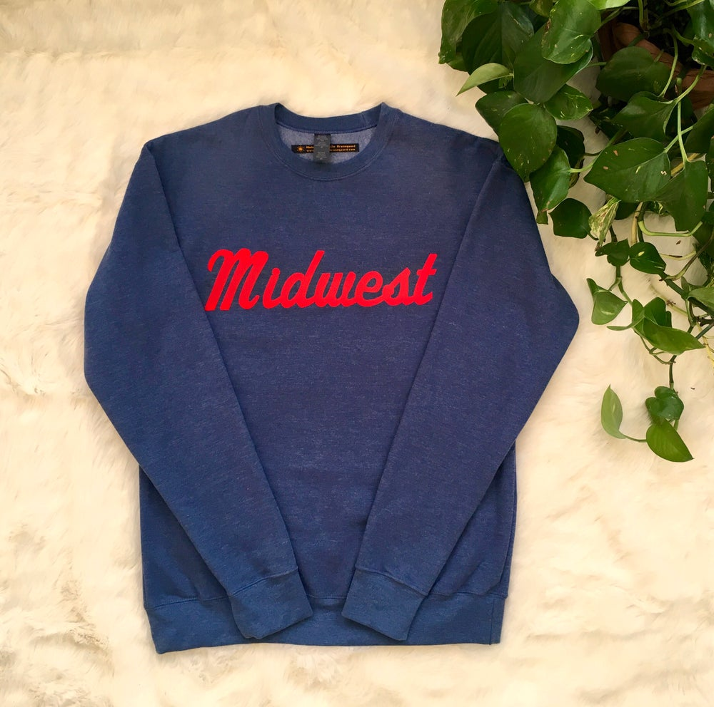 Midwest Unisex Flock Sweatshirt pmkXpiL