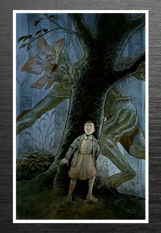 Image of Tyler Crook / Stranger Things Signed Print