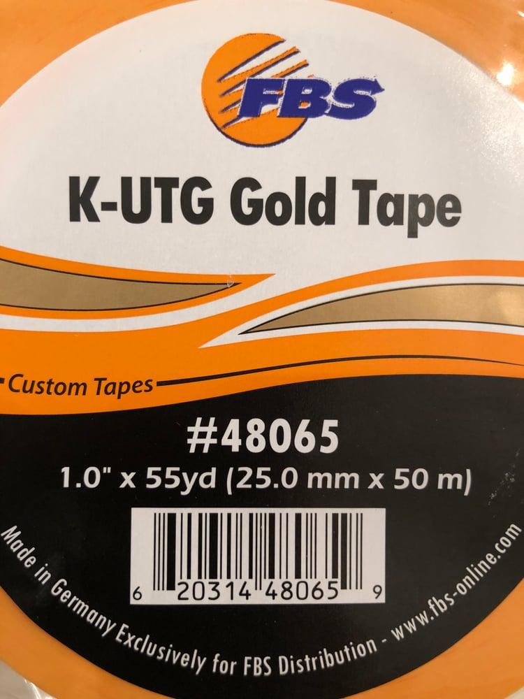 """Image of K-UTG GOLD 1"""" - PRECISION MASKING TAPE"""