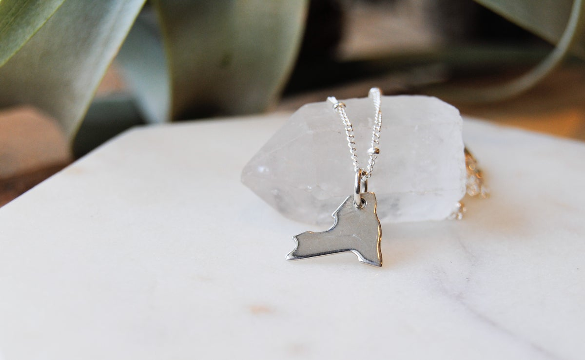 Image of NY State necklace