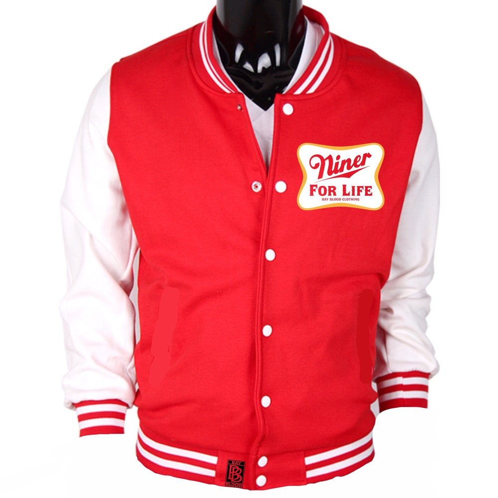 Image of Women's Niner For Life Baseball Jacket