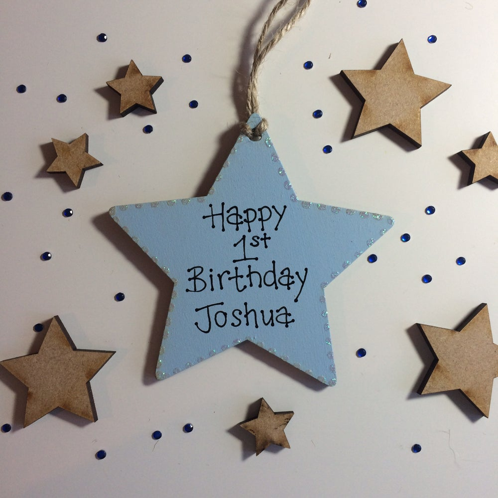 Image of Birthday Star