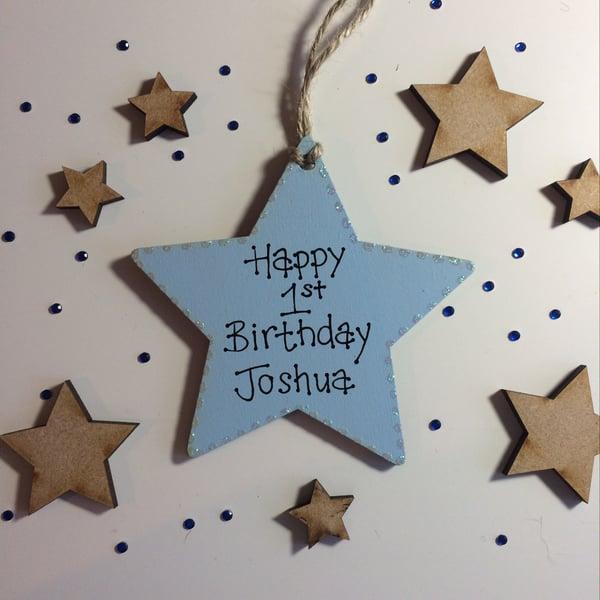 Image of Birthday Star