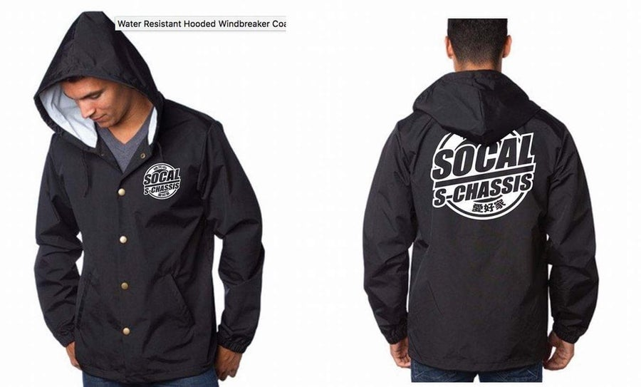 Image of Socal S-Chassis Hooded Wind Breaker Jacket