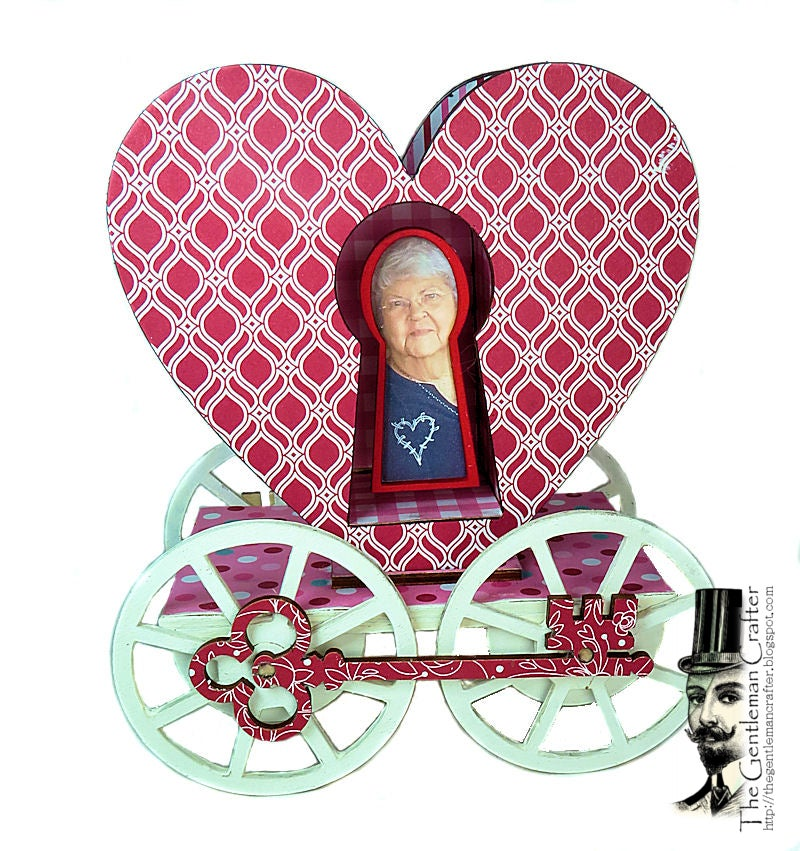 Image of Key To My Heart Carriage Without Paper