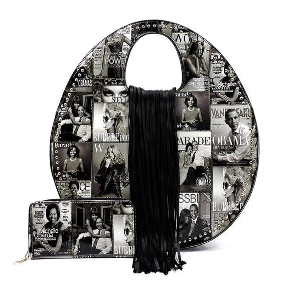 Image of Michelle MCC Round Satchel & Wallet Set