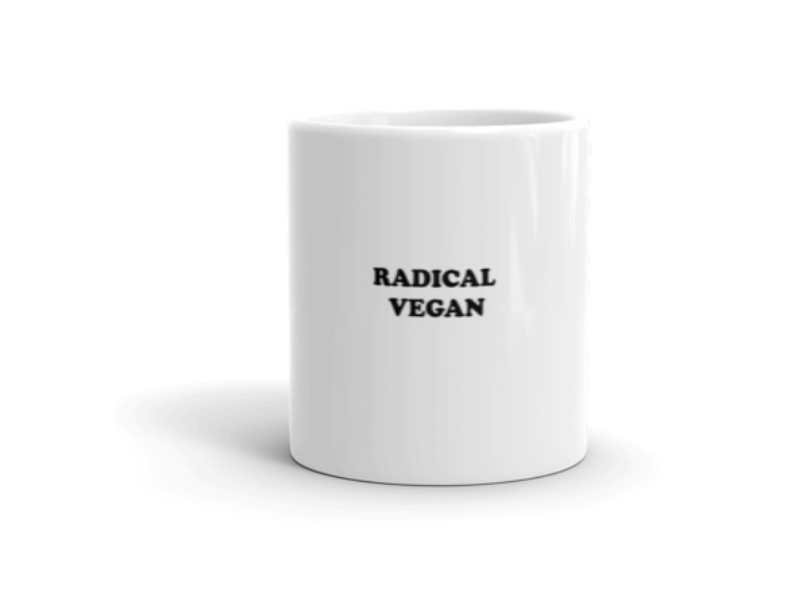 Image of Radical Vegan Mug (2 Sizes)