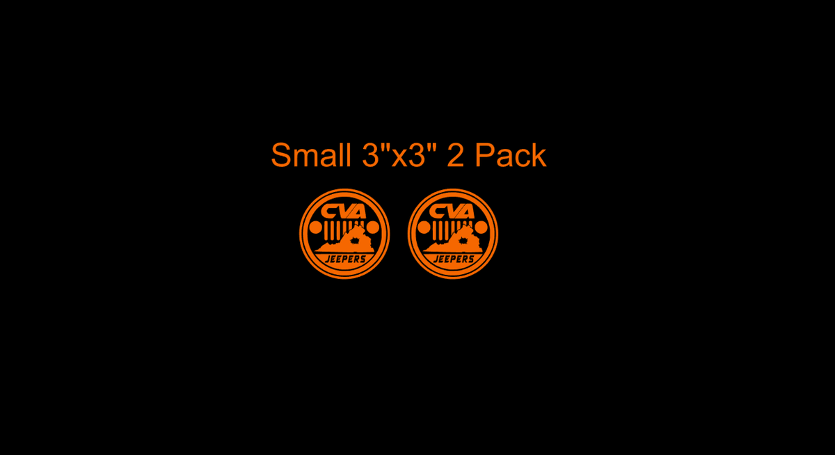Image of Members Only - Small Central Virginia Jeepers Club Decal
